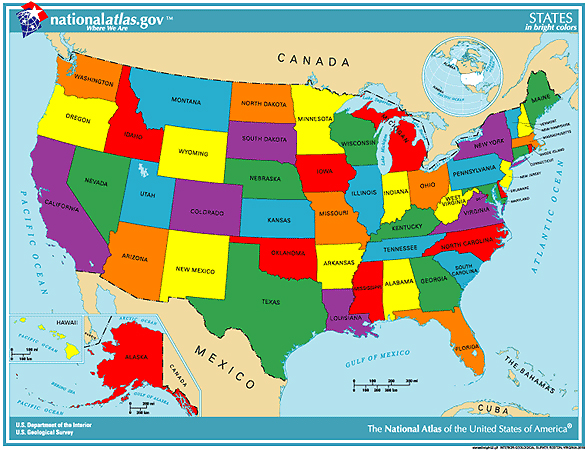 WebText GEOGRAPHY OF UTAH - Map of the usa states labeled