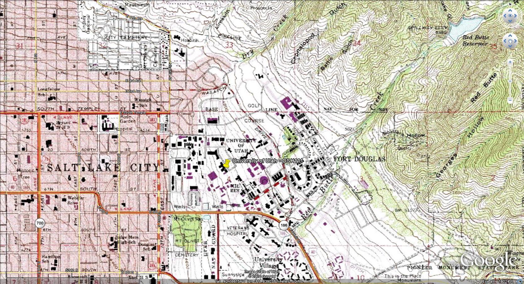 WebText GEOGRAPHY OF UTAH - Topographic map of utah